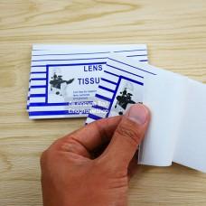 กระดาษเช็ดเลนส์ (Lens Tissue) 1 ชุดมี 3 เล่ม