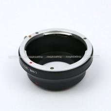Adaptor EOS to M4/3 แปลงเลนส์ Canon ให้ใช้ได้กับกล้อง Mirrorless Olympus - Panasonic