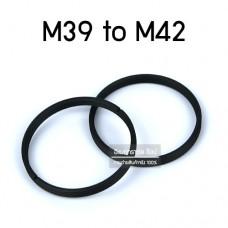 M39 to M42 Adapter แหวนเปลี่ยนขนาดหน้าเลนส์