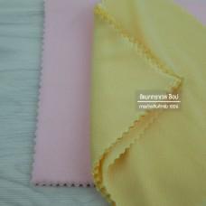 ผ้าไมโครไฟเบอร์ เช็ดเลนส์ ทำความสะอาดจอ LCD แว่นตา 1 ชุดมี 10 ผืน