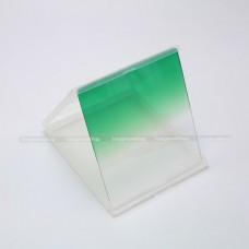 ฟิลเตอร์ครึ่งซีกสีเขียว (Graduated Green) แบบสี่เหลี่ยม