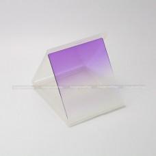 ฟิลเตอร์ครึ่งซีกสีม่วง (Graduated Purple) แบบสี่เหลี่ยม