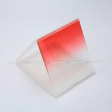 ฟิลเตอร์ครึ่งซีกสีแดง (Graduated Red) แบบสี่เหลี่ยม