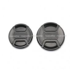 ฝาปิดหน้าเลนส์ Lens Caps ราคา 90 บาท ส่งฟรี