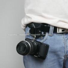 Quick Release อุปกรณ์ยึดกล้องกับเข็มขัด สำหรับกล้อง Mirrorless - DSLR ราคา 95 บาท ส่งฟรี