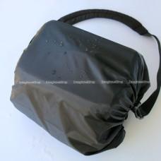 ผ้าคลุมกันฝน สำหรับกระเป๋ากล้องแบบสะพายข้าง (Rain cover) ราคา 95 บาท ส่งฟรี