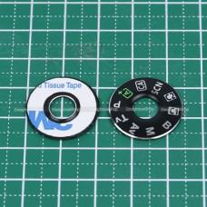 แผ่นแหวน แผ่นจาน ปรับ Mode กล้อง Canon 6D