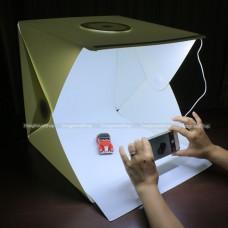 สตูดิโอเต้นท์ถ่ายภาพ 40x40x40 cm มีไฟในตัว