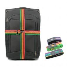 สายรัดกระเป๋าเดินทางแบบกากบาท ลายสายรุ้ง Luggage straps ราคา 125 บาท ส่งฟรี