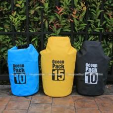 ถุงกันน้ำ กระเป๋ากันน้ำ Ocean Pack 10-15 ลิตร