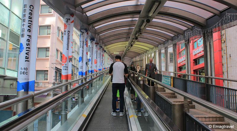 Central-Mid-Levels escalators
