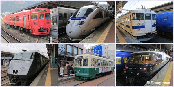 รถไฟ Kyushu
