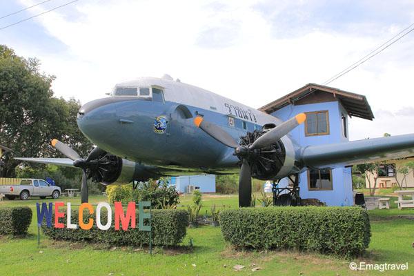 บ้านพักเครื่องบินเก่า