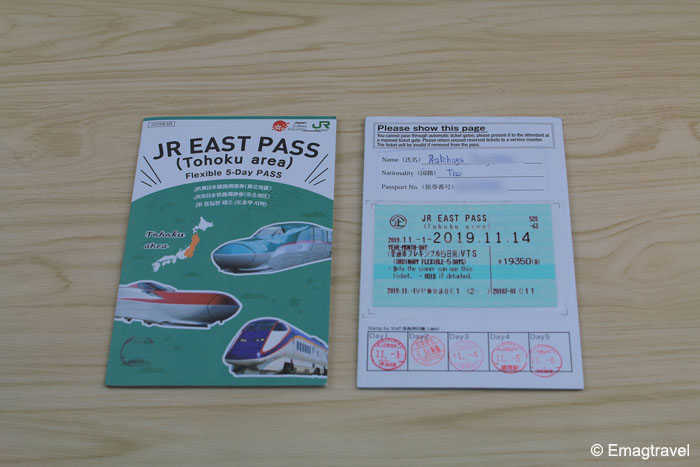JR East Pass Tohoku