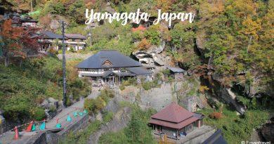 เที่ยววัด Yamadera วัดงามบนภูเขา ชมปราสาท Yamagata